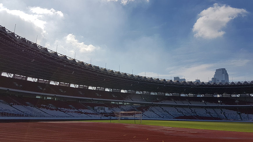 Newly refurbished Indonesia, Gelora Bung Karno (GBK) Stadium installed with TOA sound systems